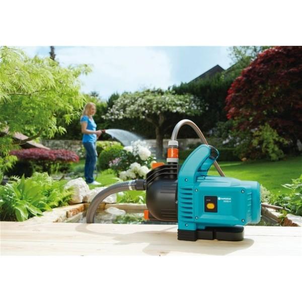 Pompe d 39 arrosage de jardin gardena 3000 4 classic 1707 20 for Arrosage jardin gardena