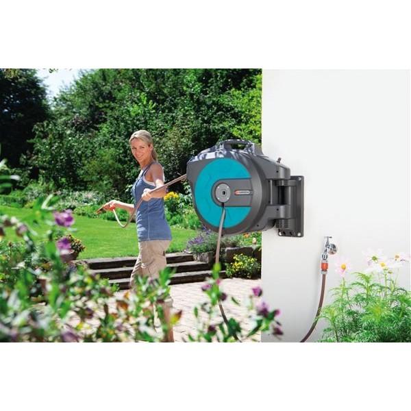 d 233 vidoir mural automatic 25 roll up comfort gardena 174 arrosage du jardin