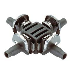 Dérivation en croix Ø 4,6 mm