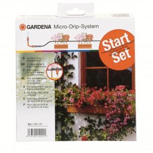 Kit de départ pour balconnières Micro Drip