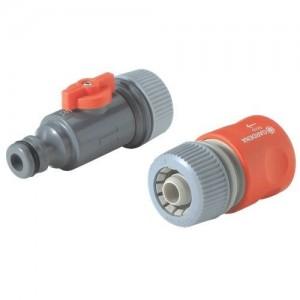 Raccordement pour tuyau micro-poreux